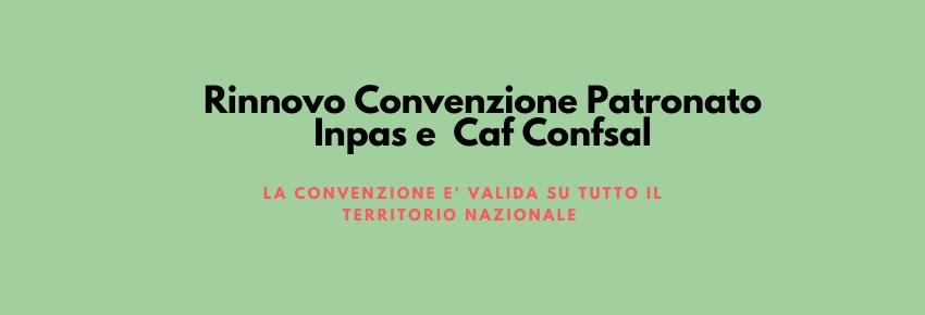 Convenzione Caf e Patronato
